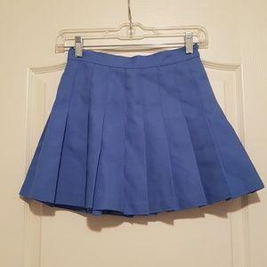 American Apparel woman XS blue skirt